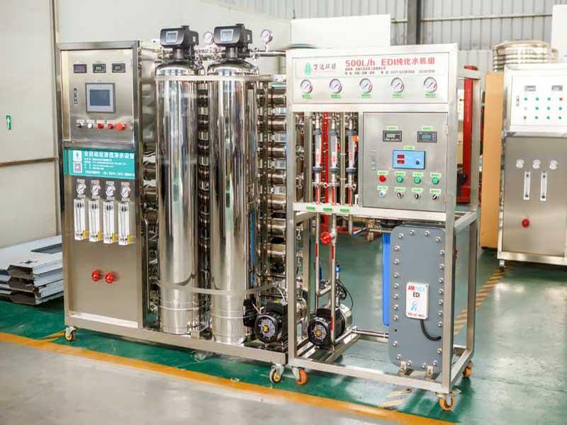 反渗透纯净水设备为什么不能产生水背压?