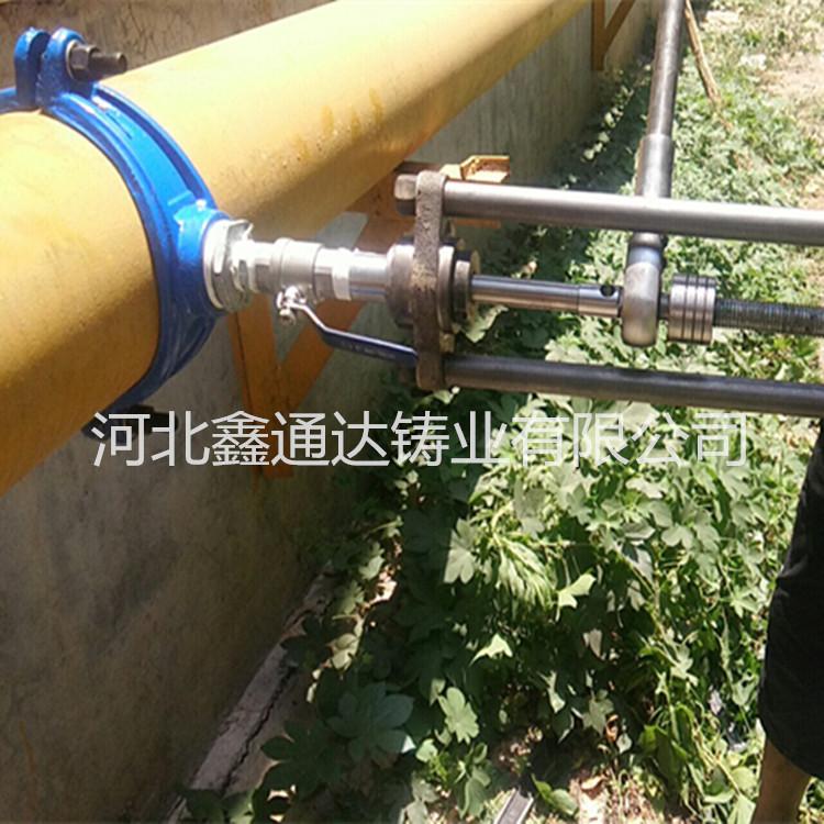 手动不停水带压开孔钻 自来水管道不停水打孔机生产厂家鑫通达