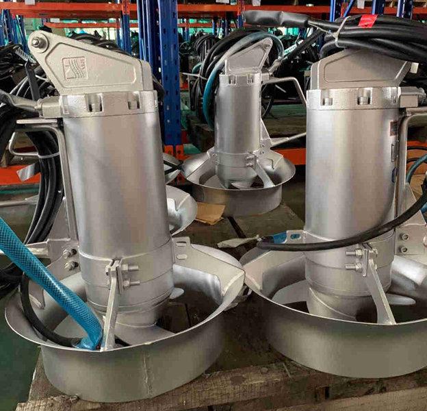 蓝深潜水节能搅拌机QJB2.5/8-400/3-740