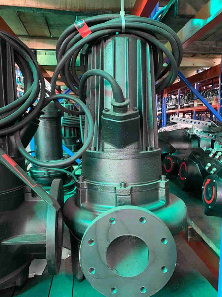 蓝深AS55-2CB潜水排污泵
