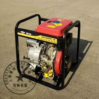 3寸便携式柴油杂质泵