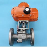 QJ641M电动不锈钢高温球阀