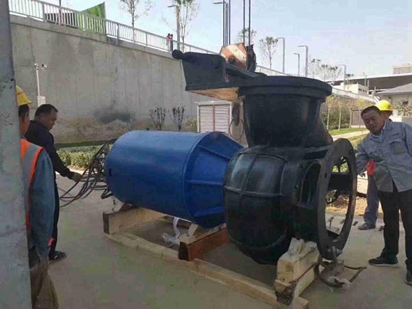 蓝深WQ2000-18-160潜水排污泵