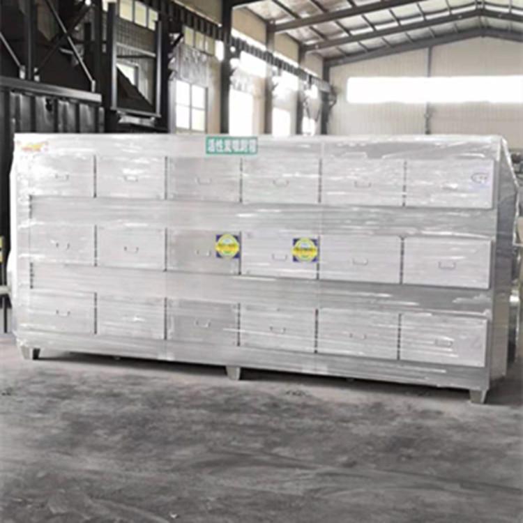 福建泉州不锈钢活性炭吸附箱1.8厚304干式过滤箱