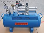 非标设计高压大流量气动气体增压系统 6mpa气驱氮气增压装置报价