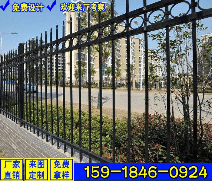 肇庆新建楼盘围墙阳台锌钢栏杆定做厂家联系电话