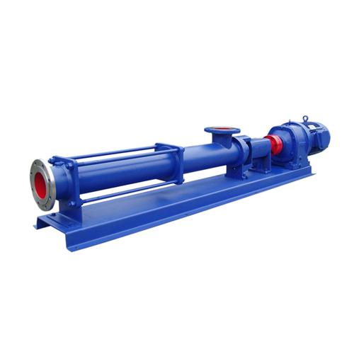 心泉 G型淤泥污泥螺杆泵|浓浆泵