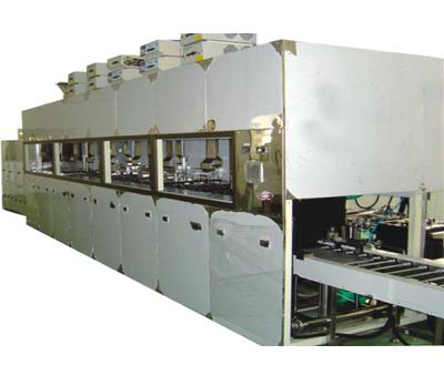 东莞华达PVD镀膜前自动超声波清洗机