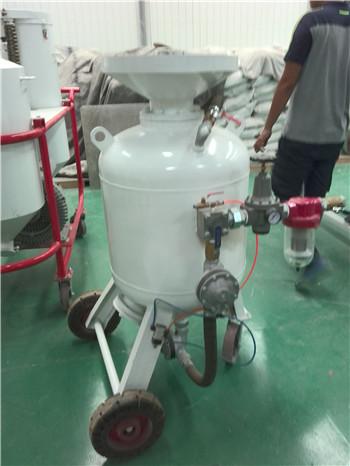 气罐翻新除锈喷砂机
