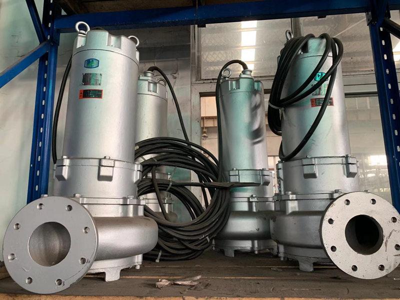 蓝深增强型潜水不锈钢排污泵