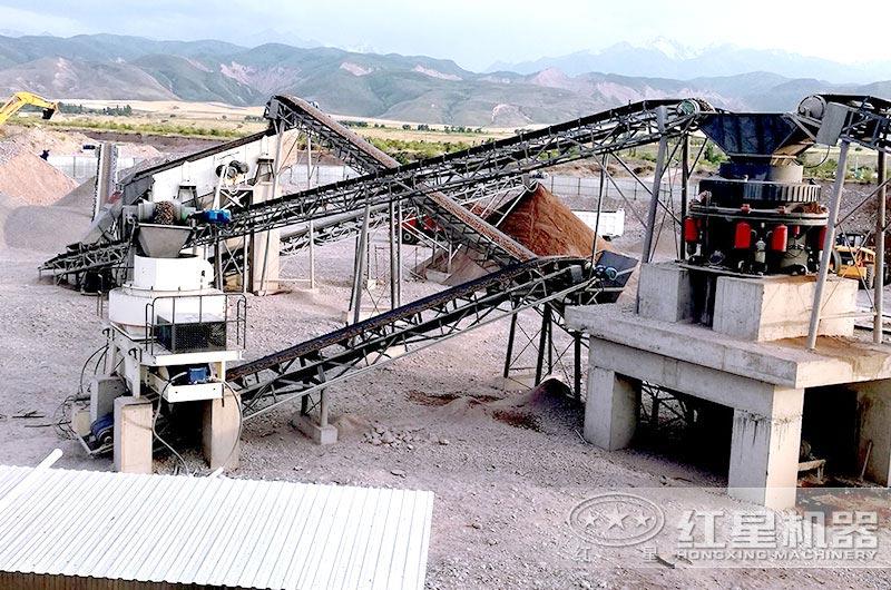 每小时400吨石子破碎生产线设备配置方案Y2