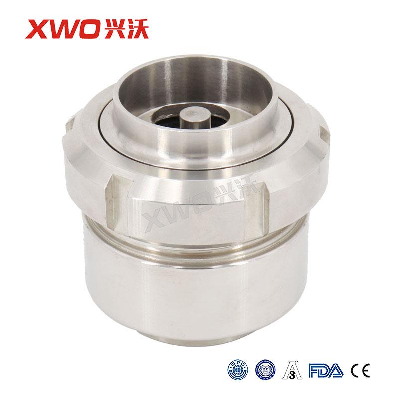 兴沃科技卫生级食品级不锈钢快装/焊接止回阀304316L