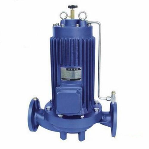 PBG屏蔽式管道泵-矾泉水泵
