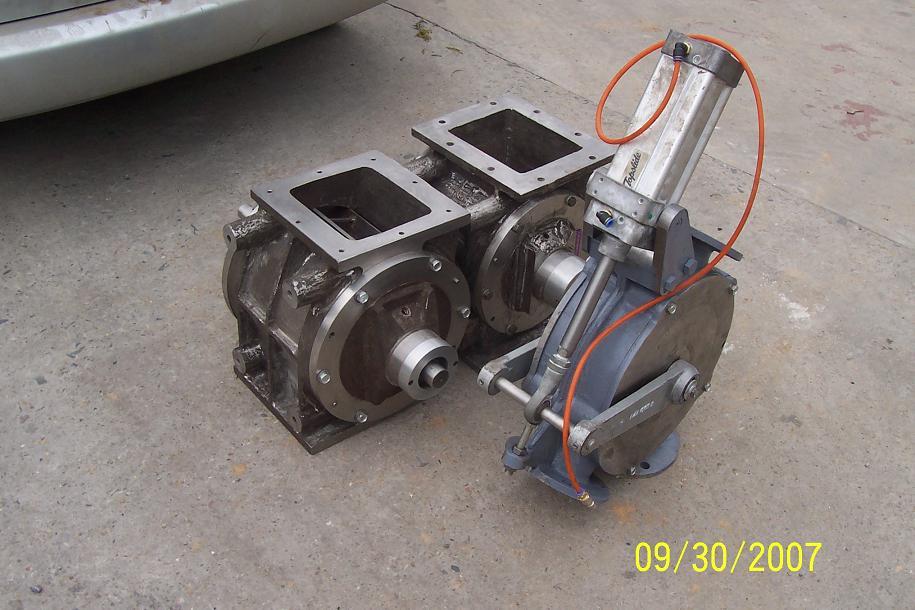 不锈钢旋转阀,换向阀,,厂家价格23000元/台,放料阀,尧图片