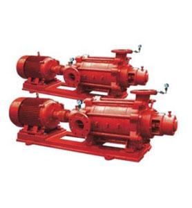 XBD-W 型卧式多级消防泵