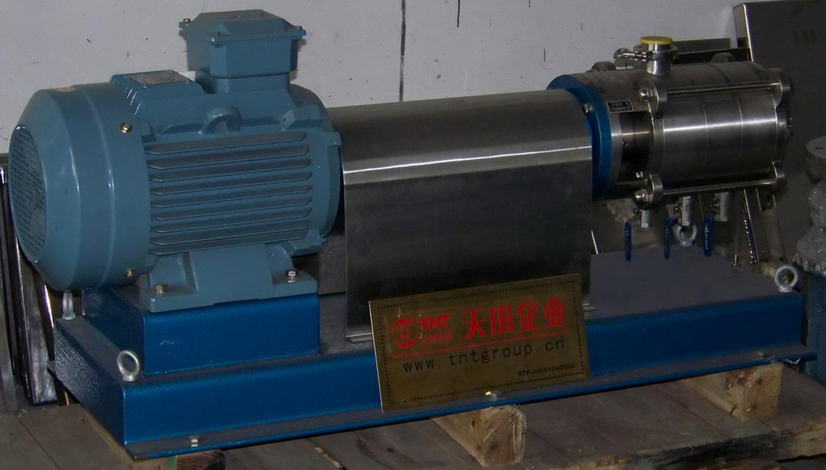 高剪切乳化均质泵