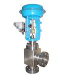 KZMAS气动薄膜高压角型调节