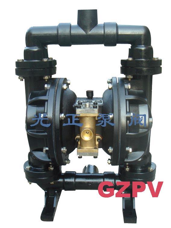 光正牌QBY塑料气动隔膜泵