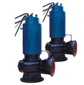 QW型自循环水冷却潜水排污泵