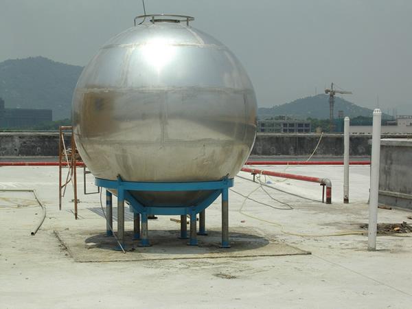 混合式球形罐结构