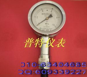 KBY泵压表 泵用抗震压力表