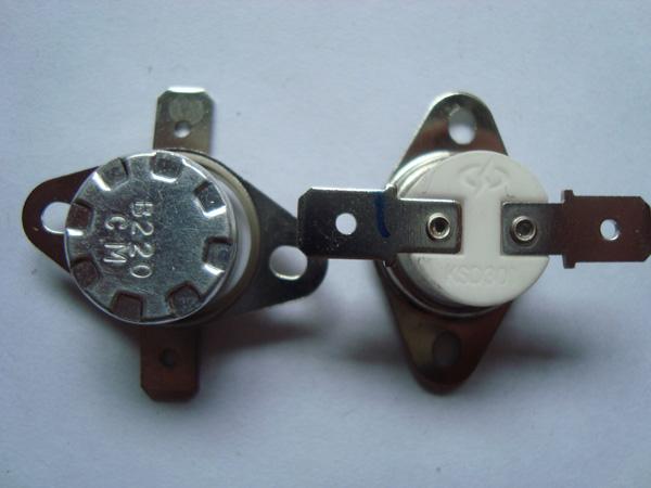 供应ksd301电水壶温控开关