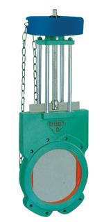 链轮传动浆液阀