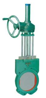 伞齿轮传动浆液阀