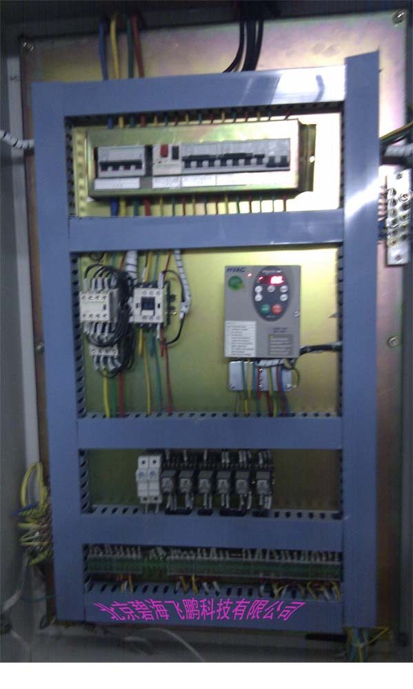 PLC控制柜恒压供水变频器控制