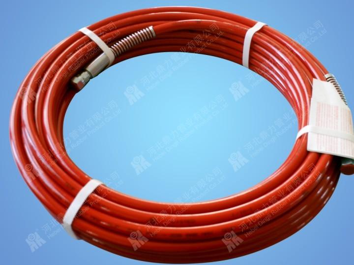 红色高压树脂管